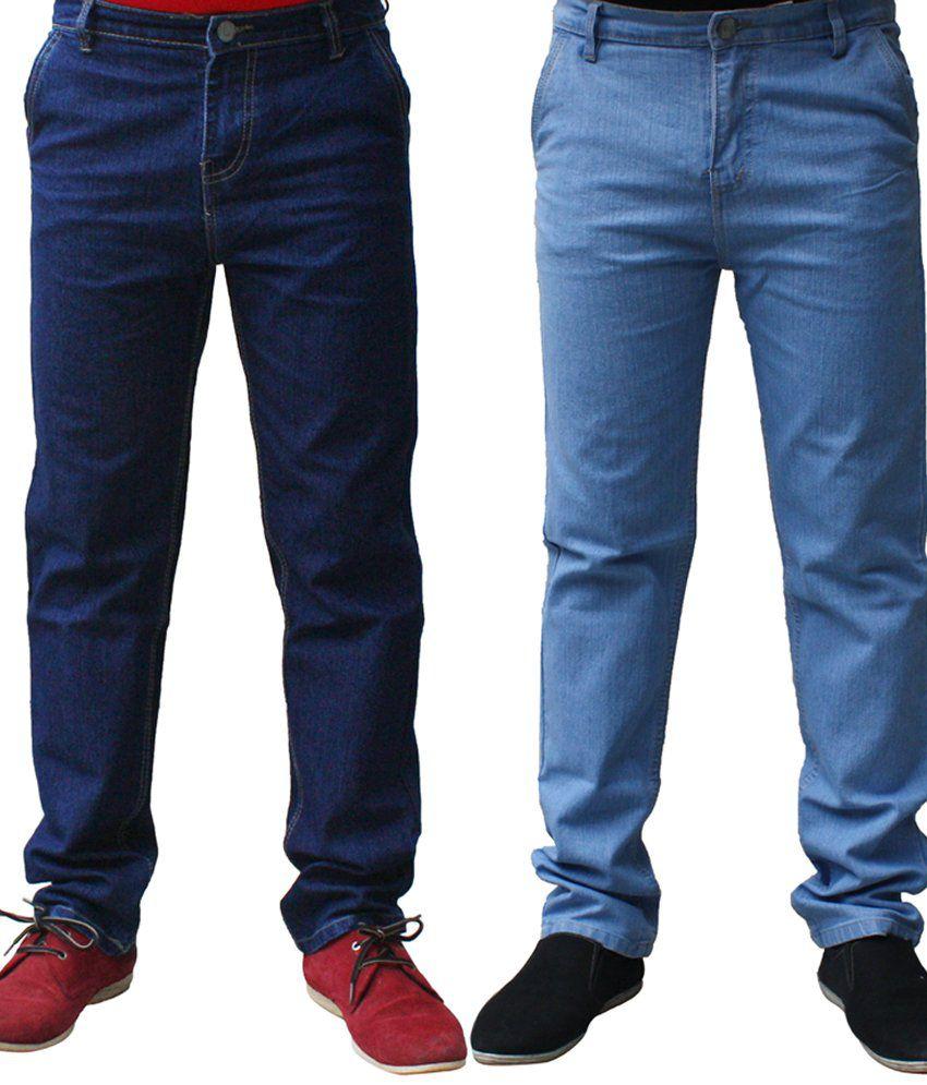 Ben Carter Fashionable Men's Denim - Combo of 2 Jeans