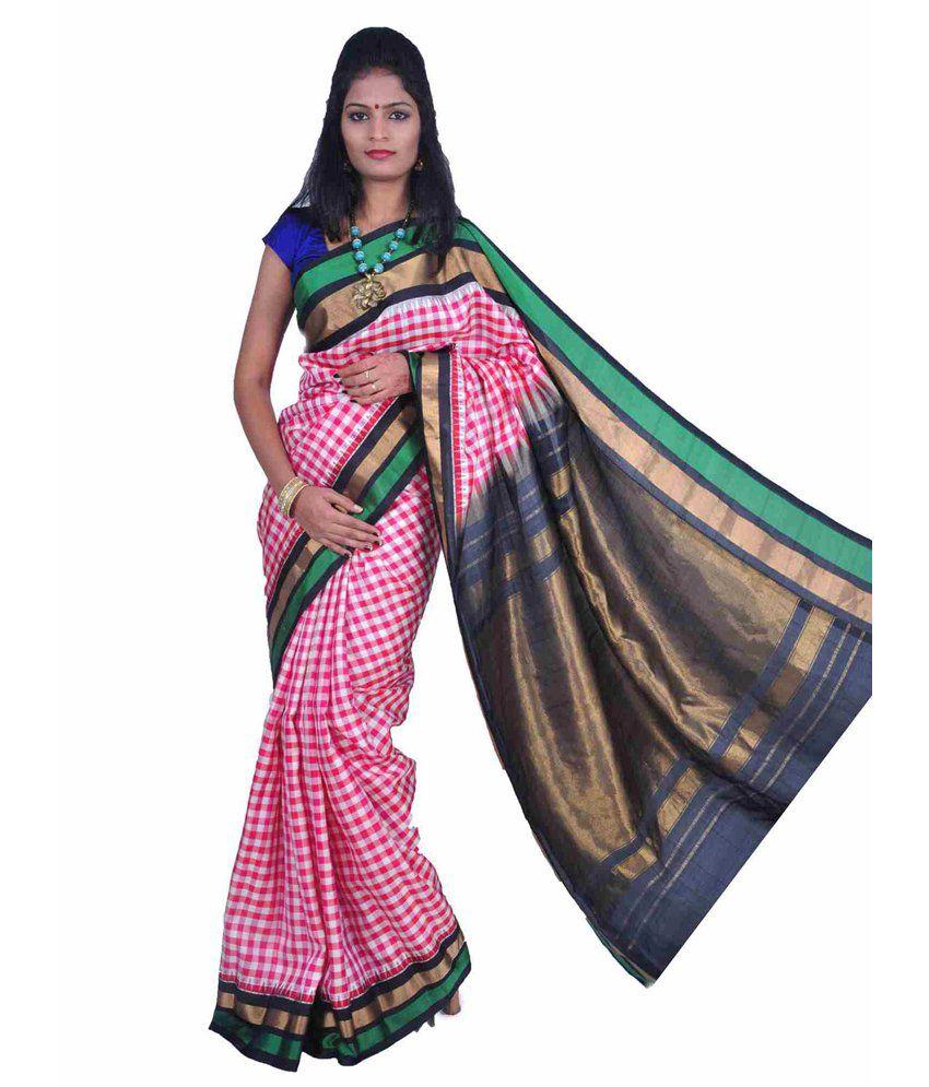 86a130217d Uppada Multi Color Silk Saree - Buy Uppada Multi Color Silk Saree Online at Low  Price - Snapdeal.com