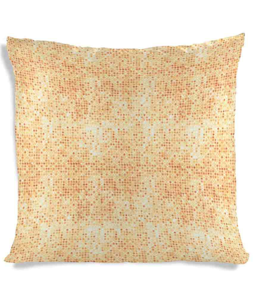Imerch Dots And Rhombus Shaped Cushion Cover