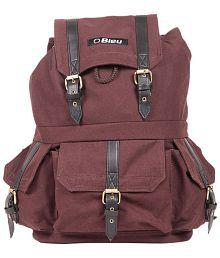 Bleu Backpack Travel Bag Hiking Bag Trekking Bag Hiking Rucksack for Outdoor 35-40 litre Brown
