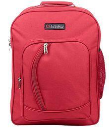 Bleu Red School Bag