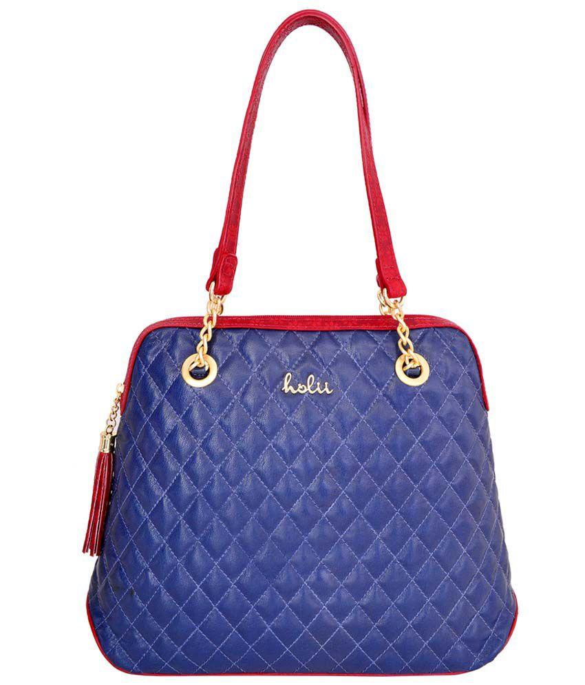Holii PAPRIKA 01 Blue Shoulder Bag