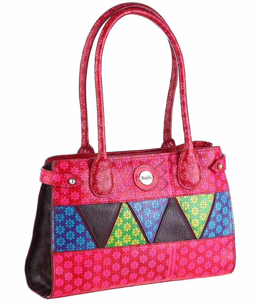 Holii KAKATIYA 02 rose shoulder bag