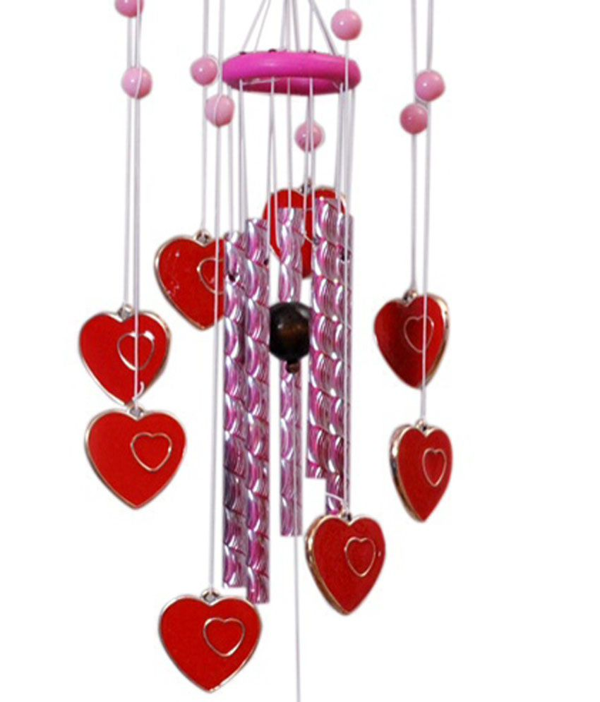 I Love Pcn Fengshui Lucky Hanging 9 Planet Hearts And Musical Pipes