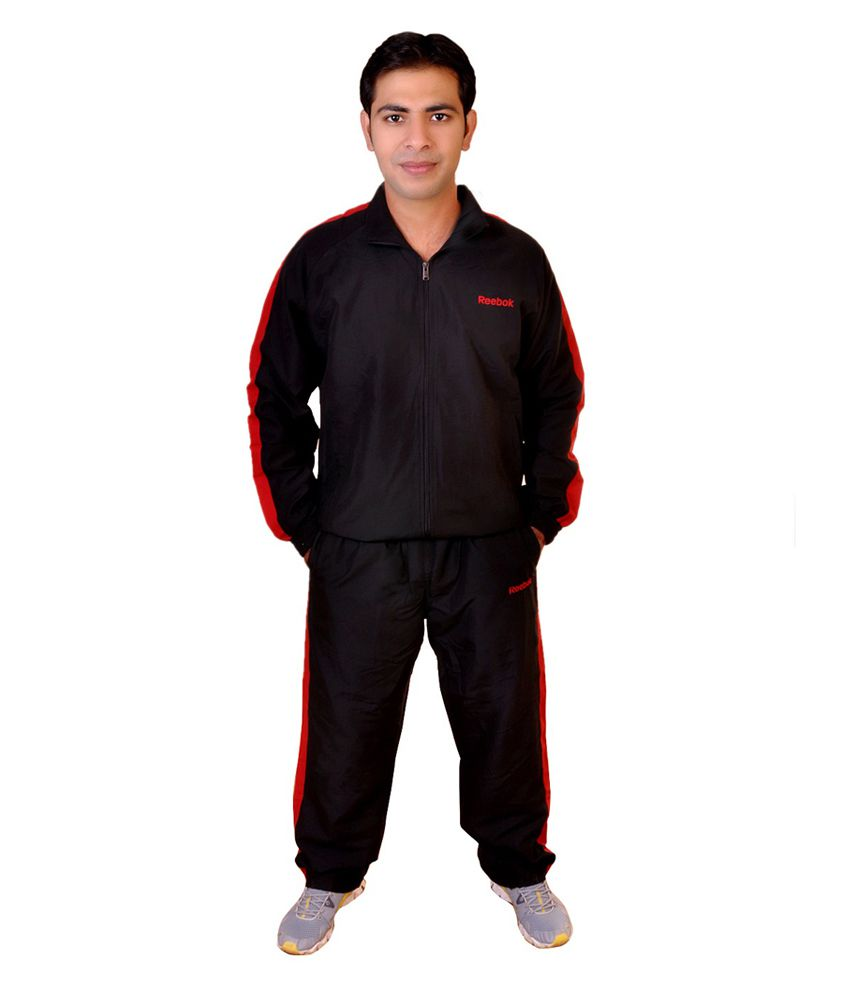 63487107a2d4 Reebok Navy Polyester Tracksuit - Buy Reebok Navy Polyester Tracksuit  Online at Low Price in India - Snapdeal