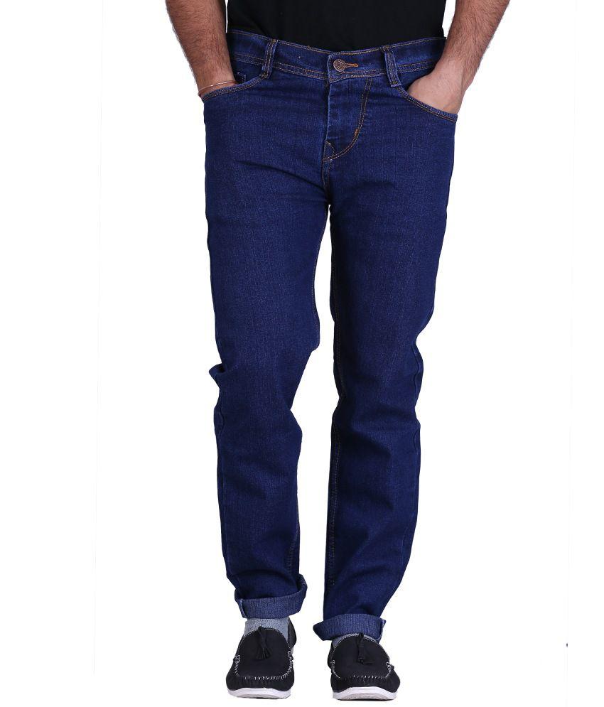 Kaasan Black Strechable Jeans