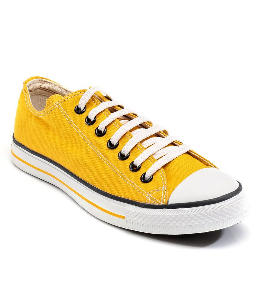 Yellow Casual Shoes Price in India- Buy Converse Yellow Casual Shoes ...