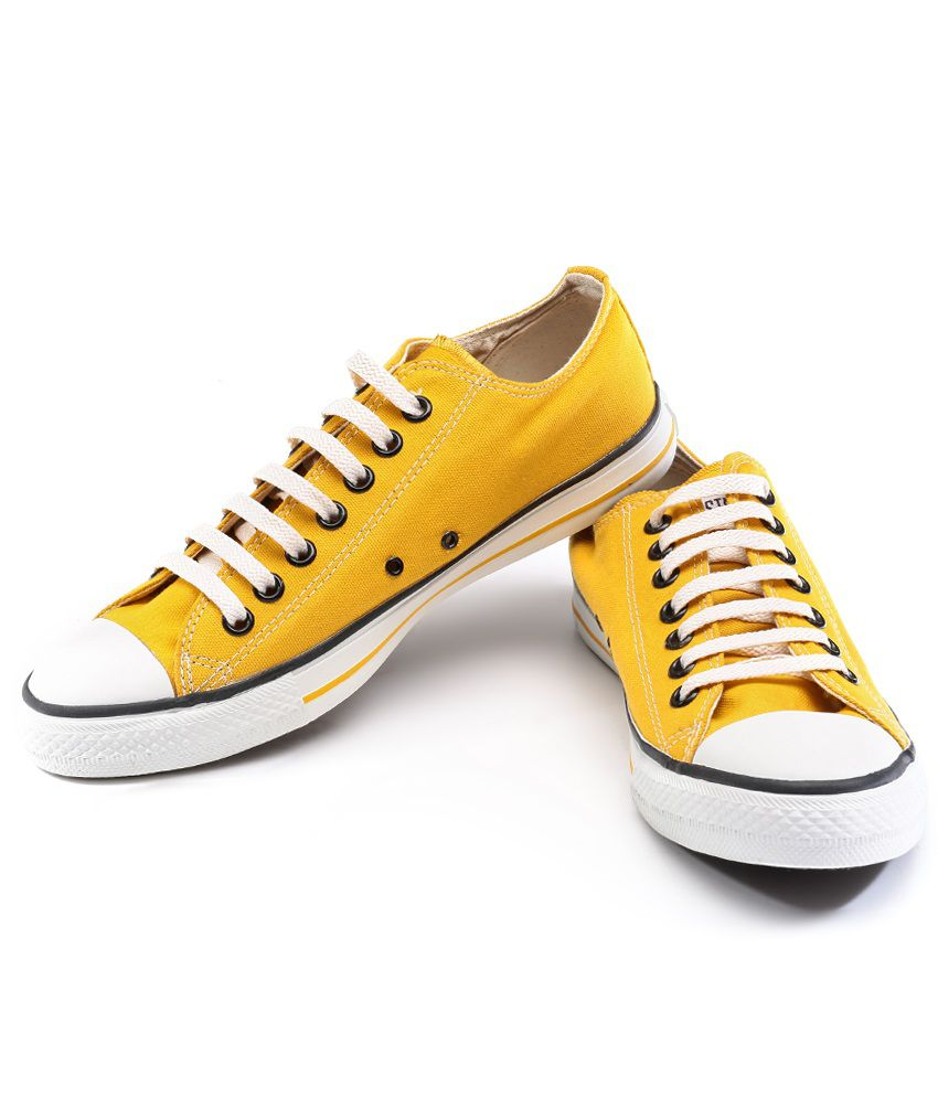 Converse Yellow Casual Shoes Price in India- Buy Converse Yellow ... a9282c631