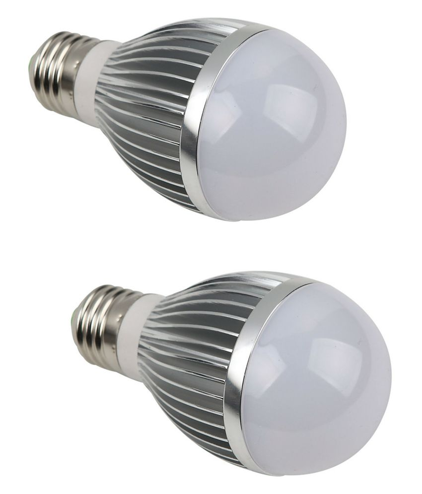 Pious Lighting Led Bulb 5w - Pack Of 2