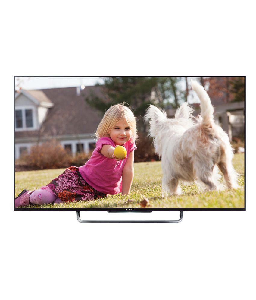 Sony BRAVIA KDL-50W800B 126 cm (50) BRAVIA Full HD 3D Smart LED Television