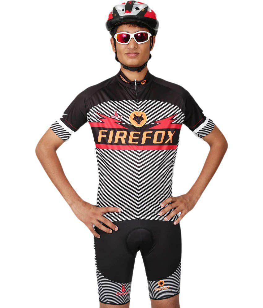 Triumph-firefox Printed Cycling Jersey