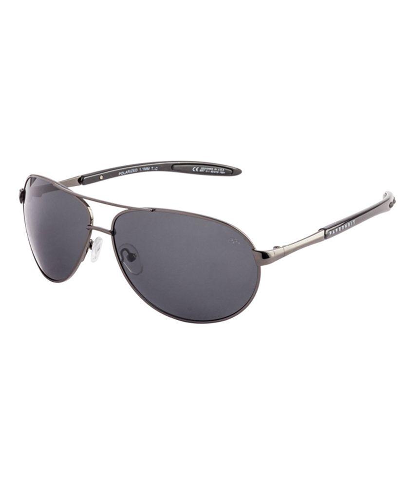 Farenheit SOC-FA957P-C2 Gray/Gray Aviator Sunglasses