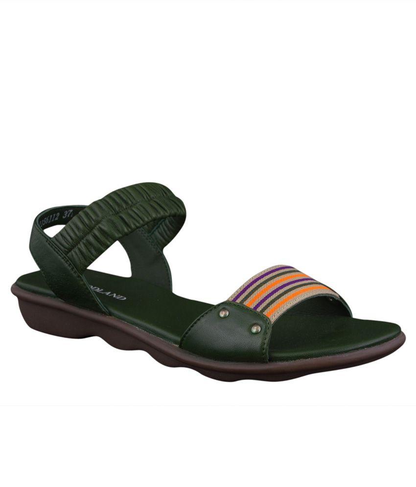 Woodland Green Sandal
