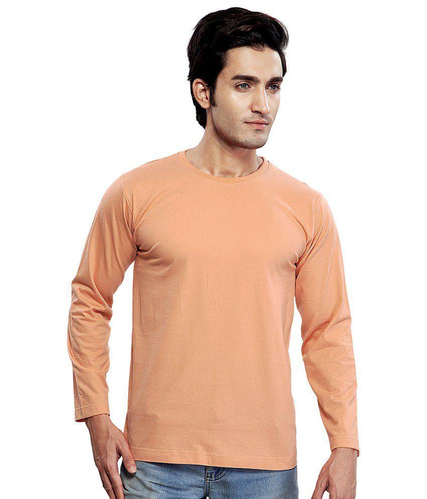 Clifton Men's Basic T Shirt Full Sleeve R Neck