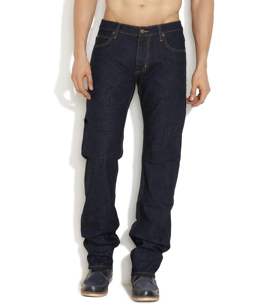 Lee Black Mid Low Slim Fit Jeans