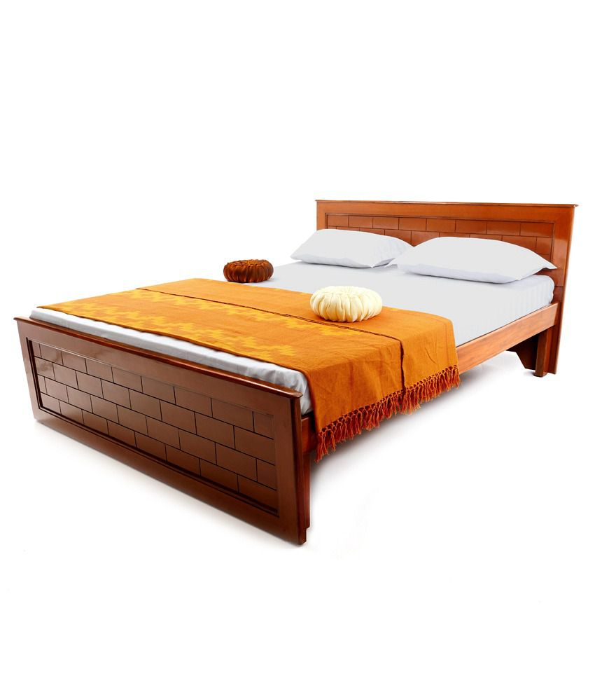 Looking good furniture brick king size withoutstorage bed for Looking for furniture