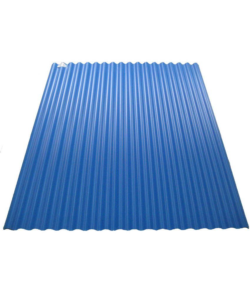 Tnz Fiber Plastic Medium Size Blue Corrugated Sheet: Buy Tnz Fiber