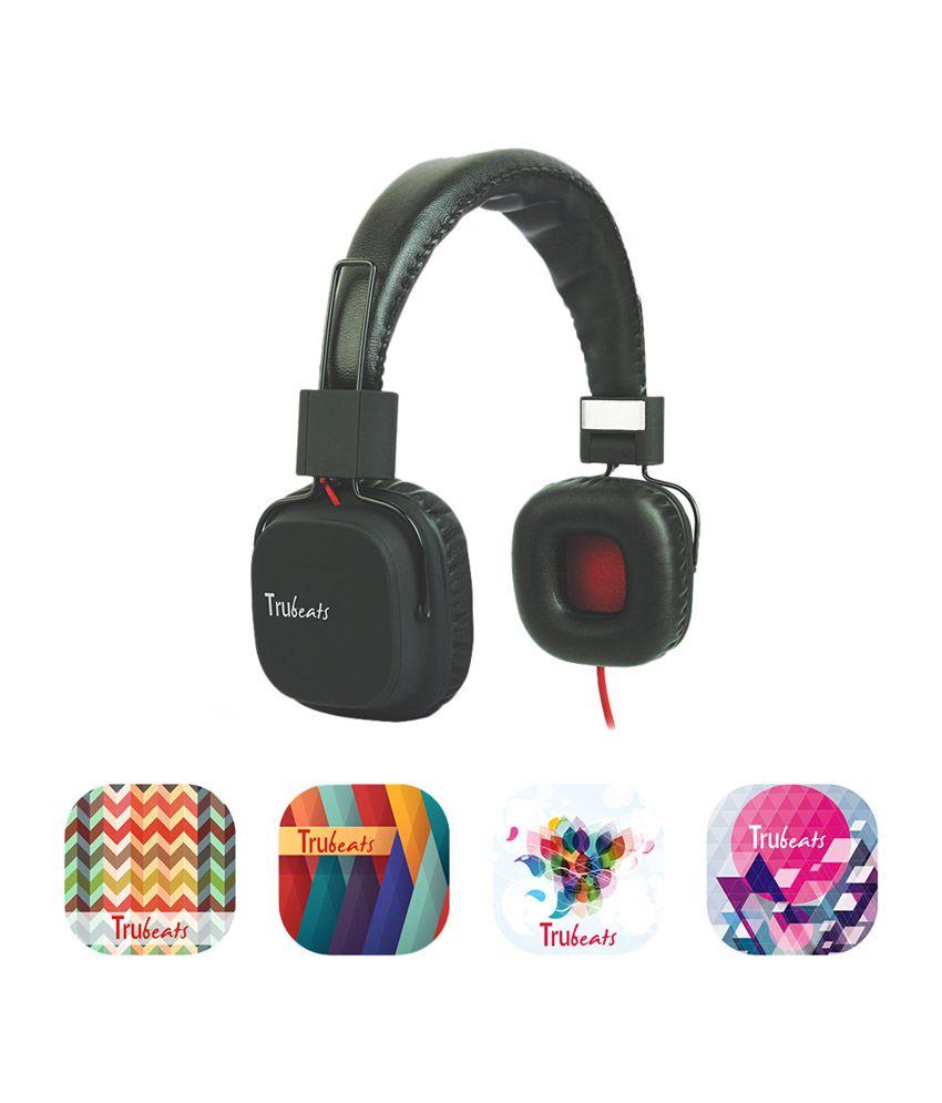 Amkette Tango FDD737BL Trubeats Tango Wired Headphone