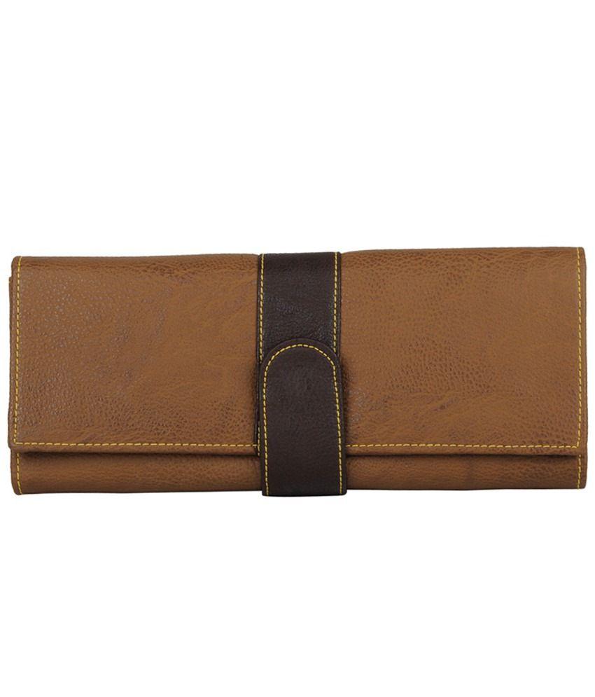 Glam Brown Regular Wallet
