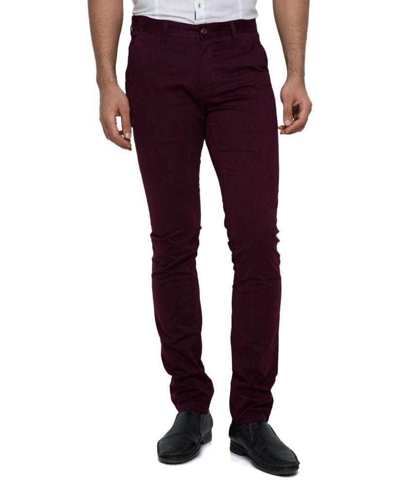 Jade Blue Purple Slim Jeans