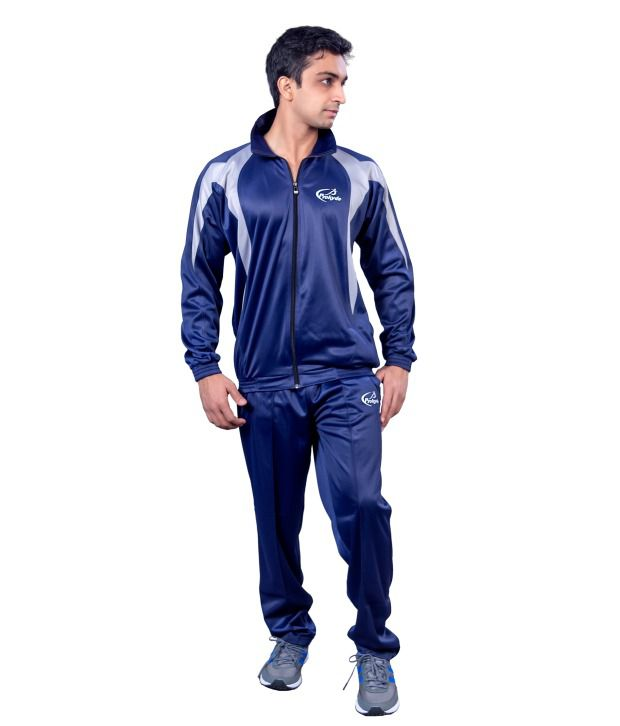 Prokyde Blue And Gray Tracksuit