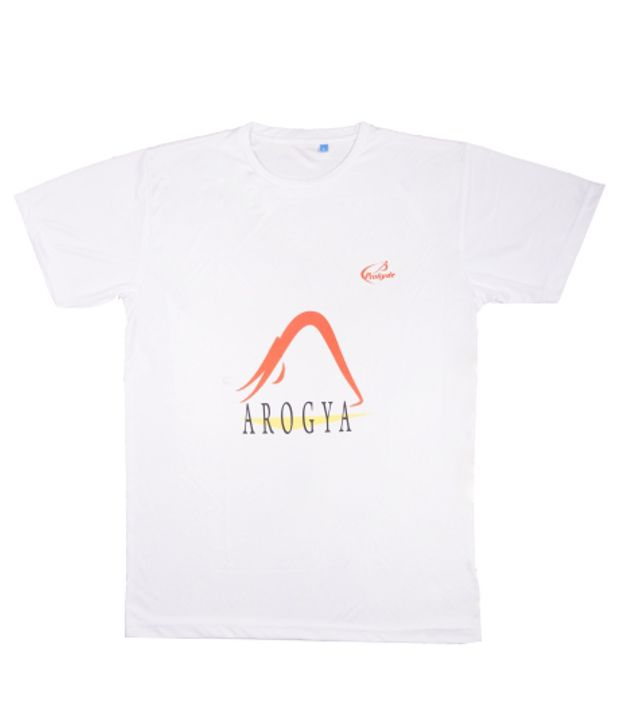 Prokyde White Yoga T-shirt
