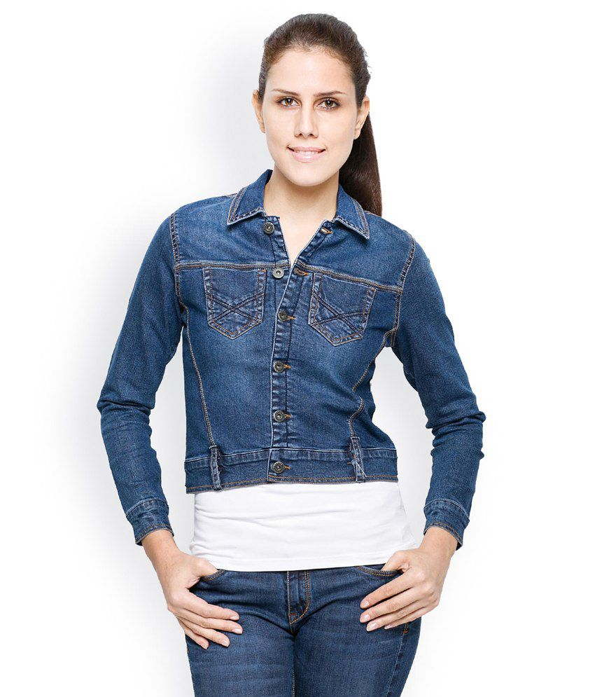 Buy Tarama Blue Classic Denim Jacket Online at Best Prices in ...
