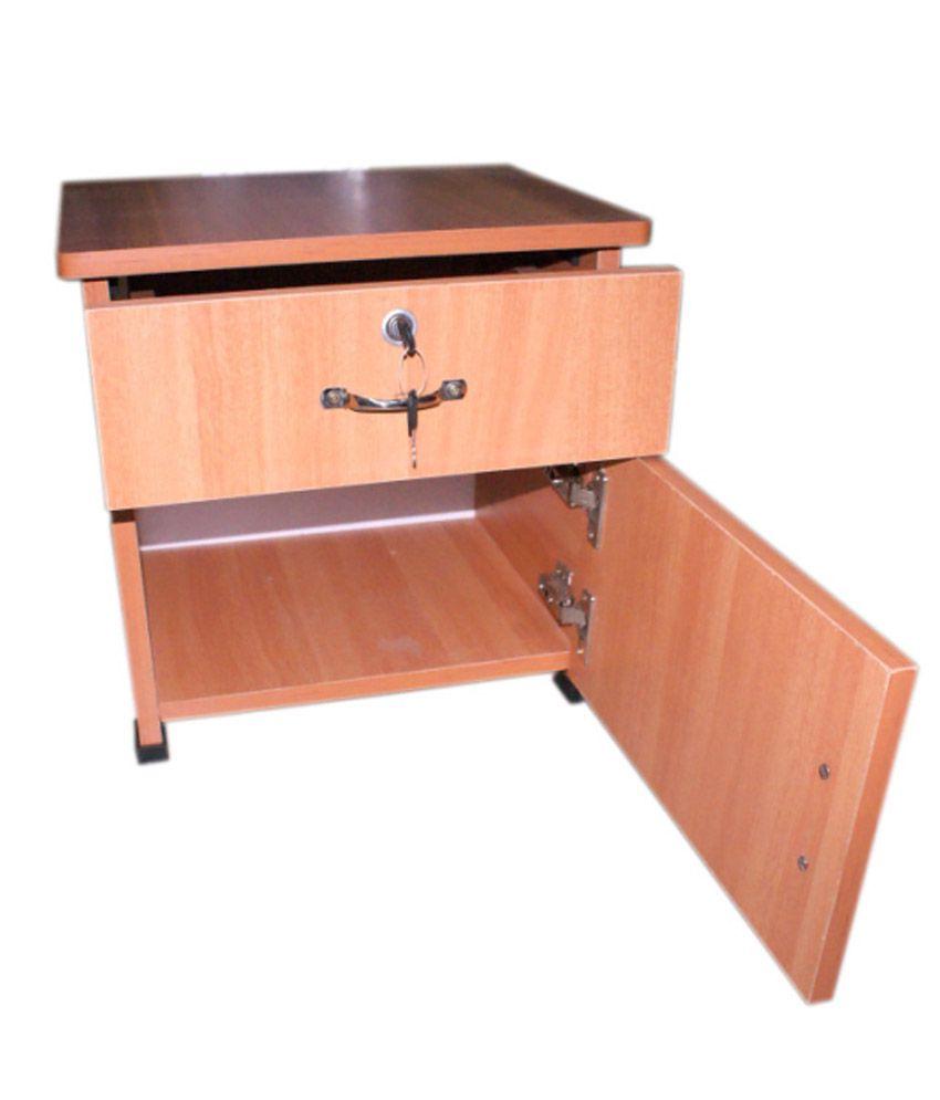 Unique Enterprises Bed Side Box Storage Cabinet - Buy ...
