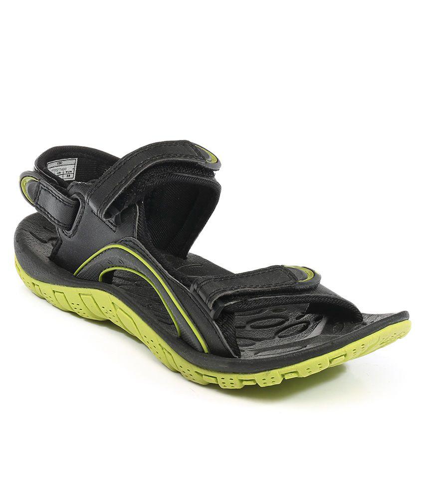 Fila Black Viki Sandal Price In India Buy Fila Black Viki