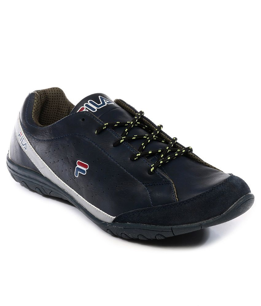 Fila Navy Smart Casuals Shoes Price in India  7d5361085