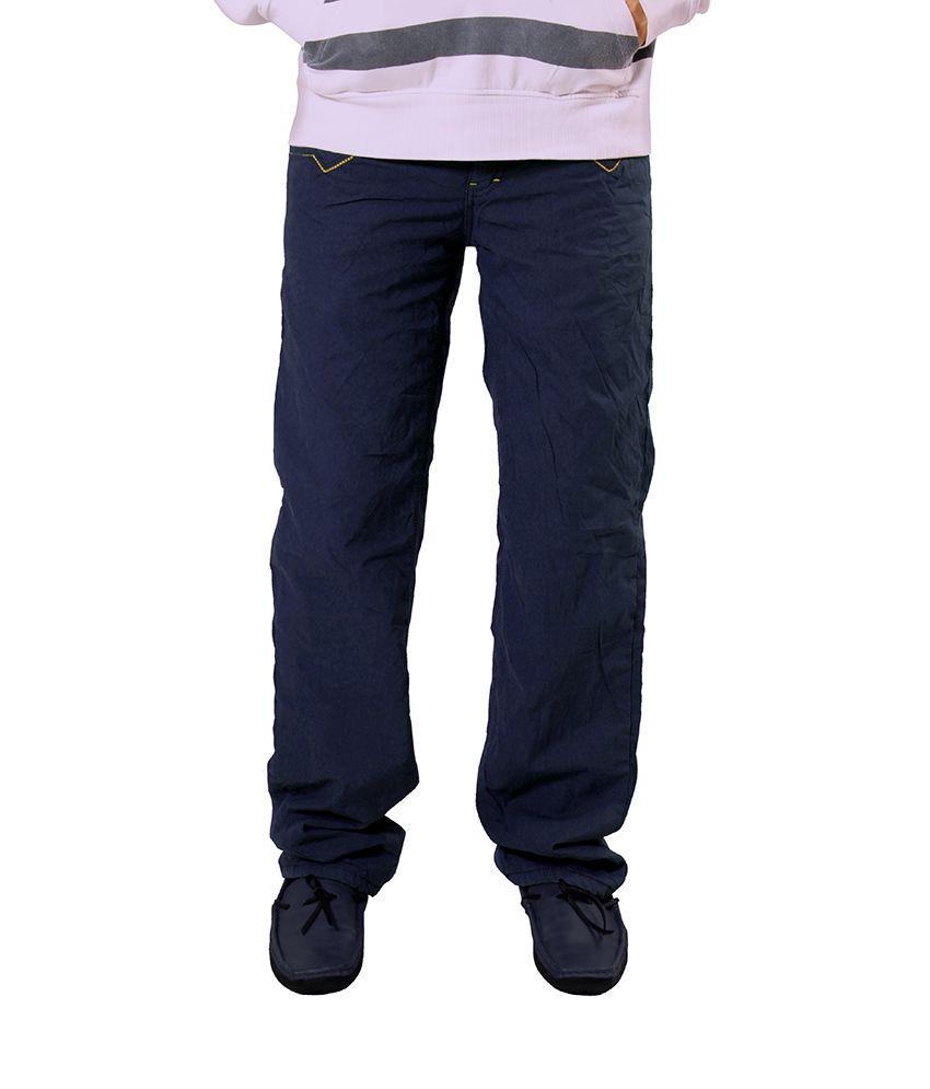 Uber Urben Blue Bonded Trouser