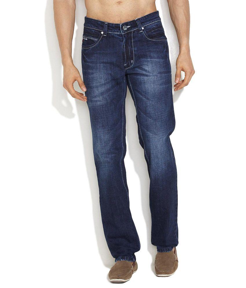 Canary London Medium Blue Off-Duty Style Narrow Fit Jeans