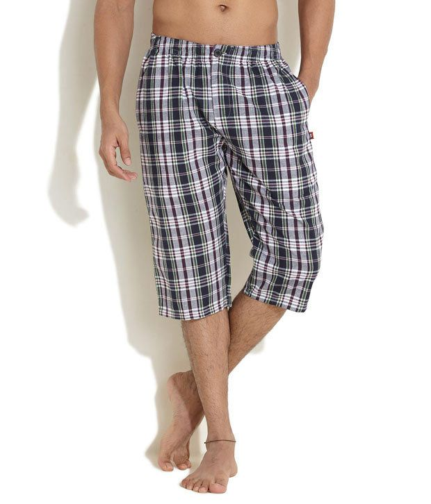 SWEET DREAMS Multi Colour Check It Out Shorts
