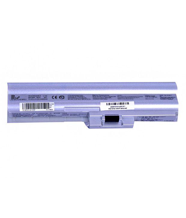 4D Sony Vaio Vgn-Z70B 6 Cell 4400 Mah Laptop Battery