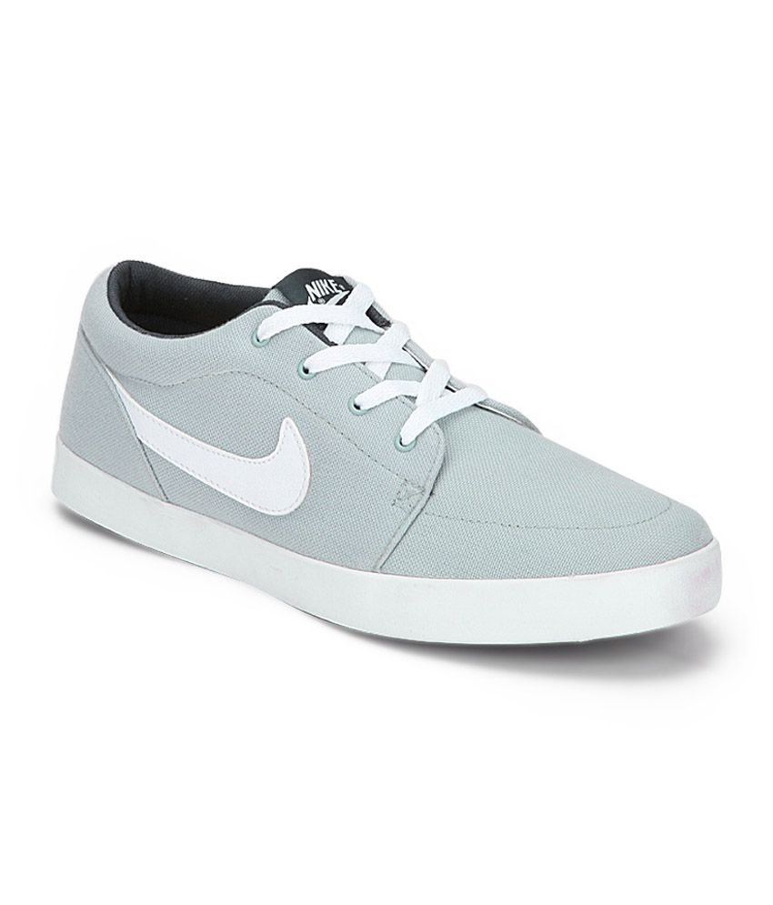 buy online 484b2 492ca Nike Gray Elegant Canvas Sneakers - Buy Nike Gray Elegant Canvas Sneakers  Online at Best Prices in India on Snapdeal