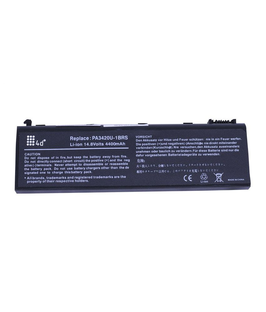 4d Toshiba L10-178 6 Cell Laptop Battery