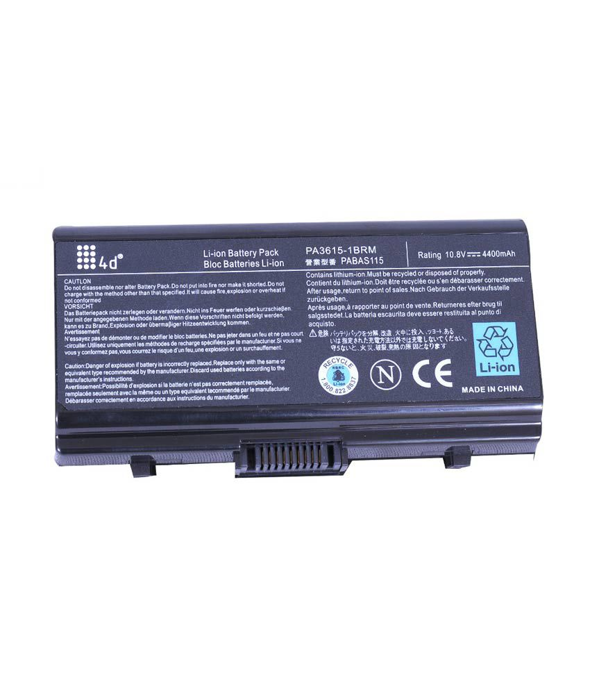 4d Toshiba L40-17m 6 Cell Laptop Battery