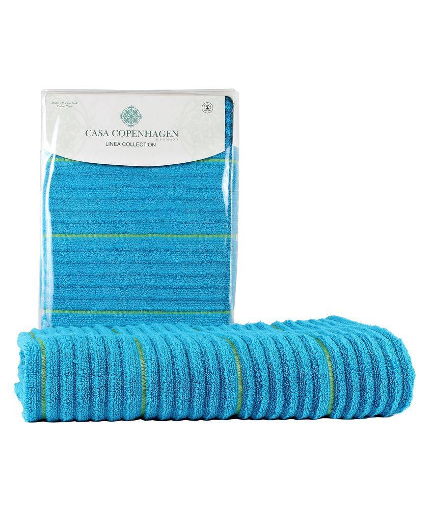 Casa copenhagen linea ribbed zero twist hawaiin ocean bath towel buy casa copenhagen linea - Casa copenaghen ...