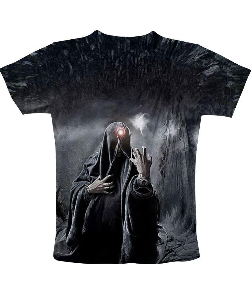 Freecultr Express Gray Cotton Blend T-shirt