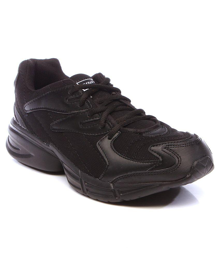 Sparx Black Sports Shoes Art