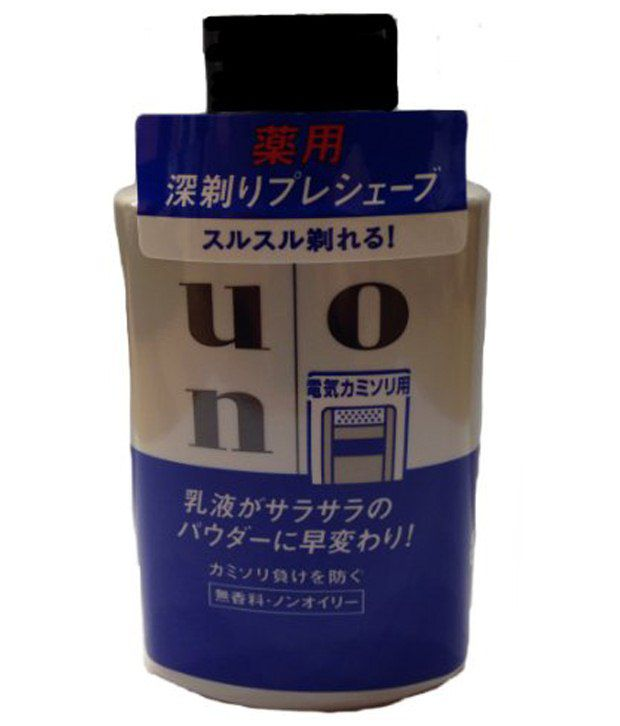 Shiseido Uno Pre Shave Lotion For Electrical Shaver 100ml Buy