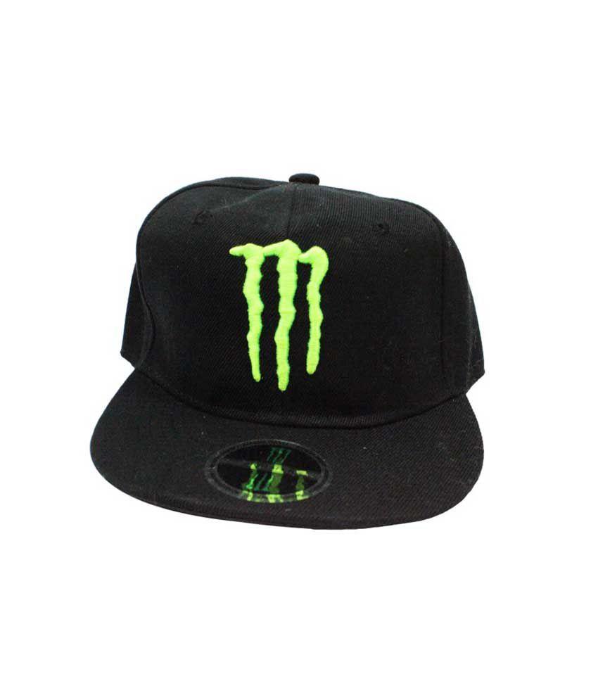14971d3e437600 Takeincart Black Monster Snapback & Hiphop Cap - Buy Online @ Rs. | Snapdeal