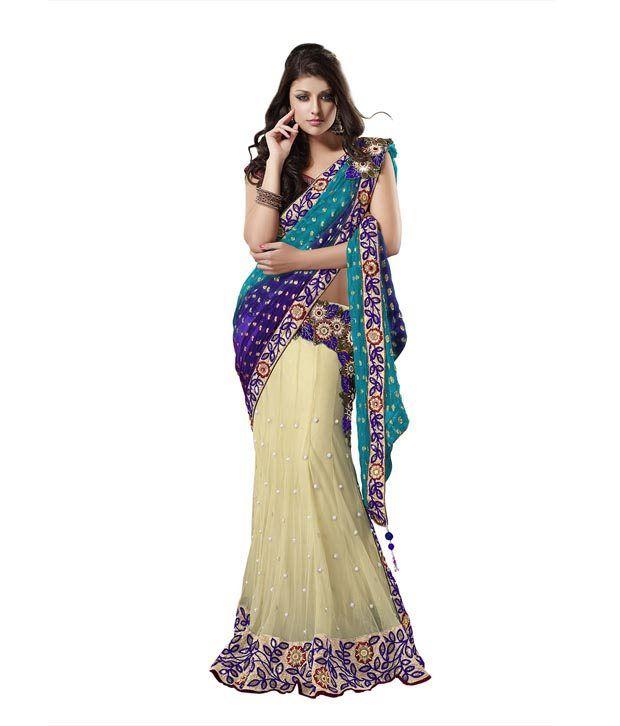63a18943b6 Moh Manthan Designer Saree - Buy Moh Manthan Designer Saree Online at Low  Price - Snapdeal.com