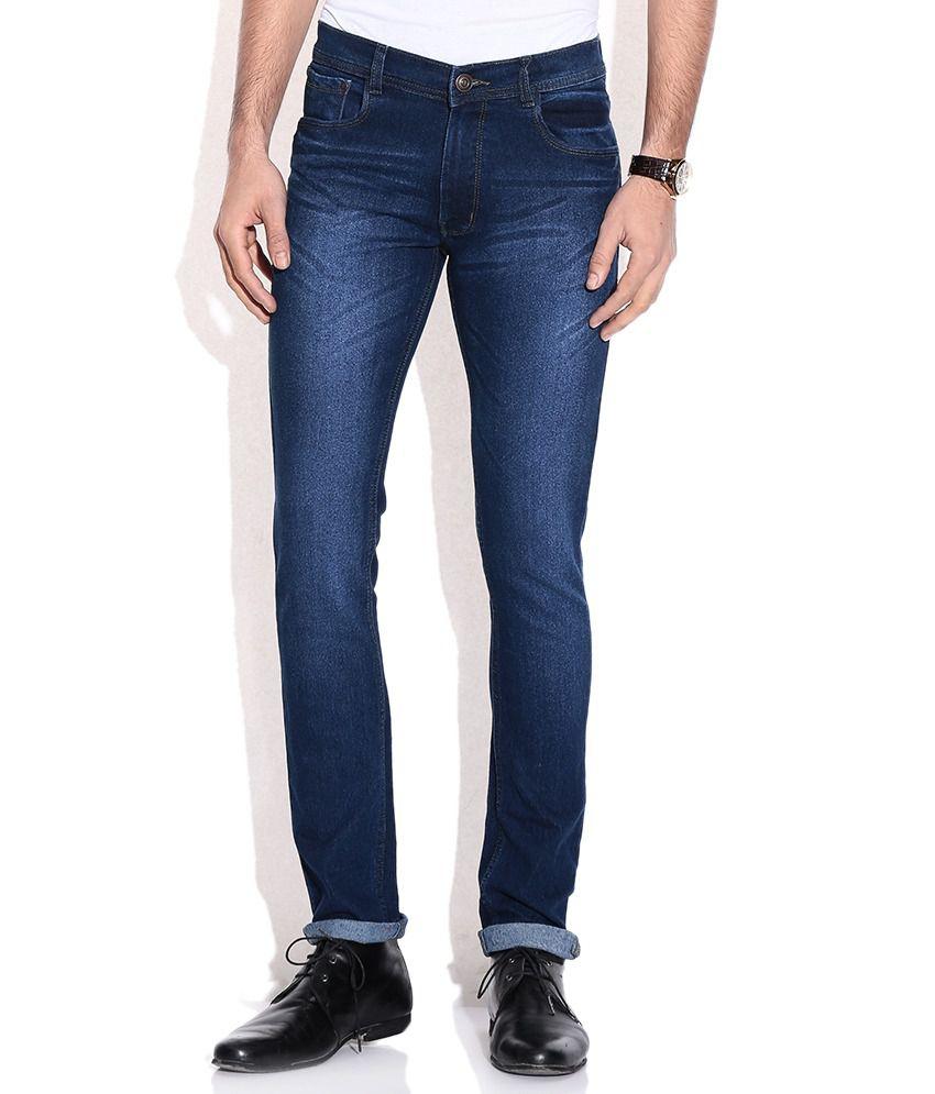 Newport Blue Skinny Jeans