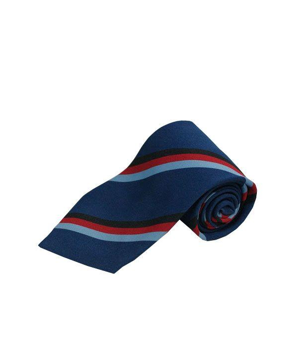 Wintex Blue Micro Fiber Formal Regular Tie