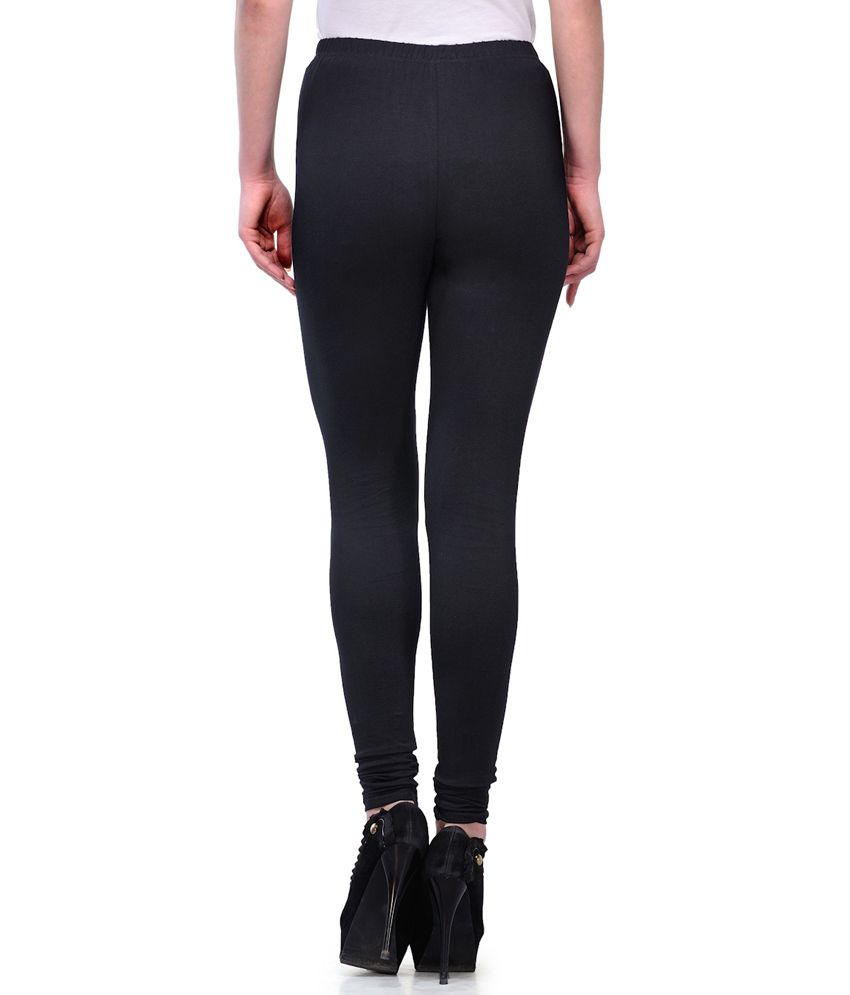 4e11c4d2c Ffu Women s Cotton Black Legging Price in India - Buy Ffu Women s ...