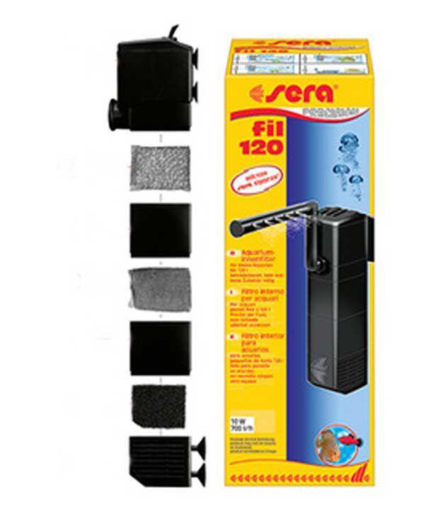 Sera fil 120 internal aquarium filter 700lts hour buy for Sera aquarium