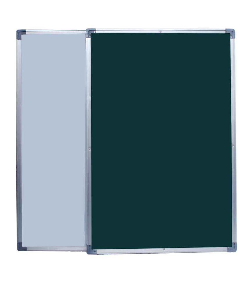 roger moris double sided white green chalk board 1 5 x 1 feet