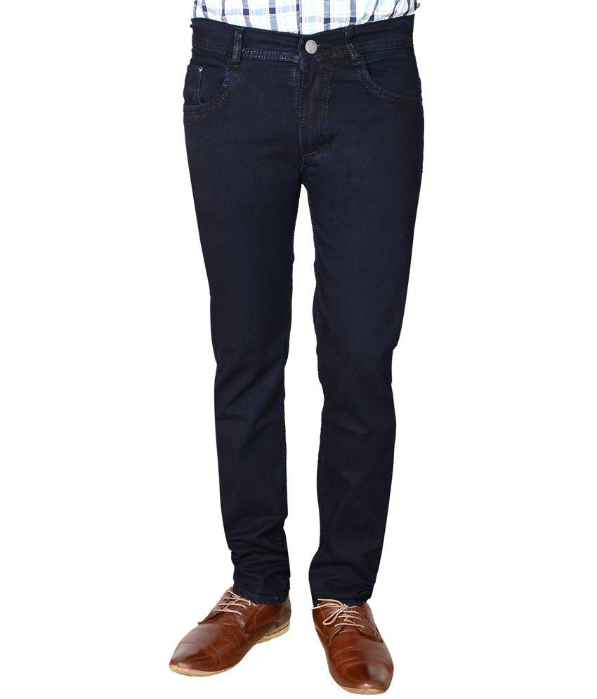 Flyjohn Blue Slim Jeans