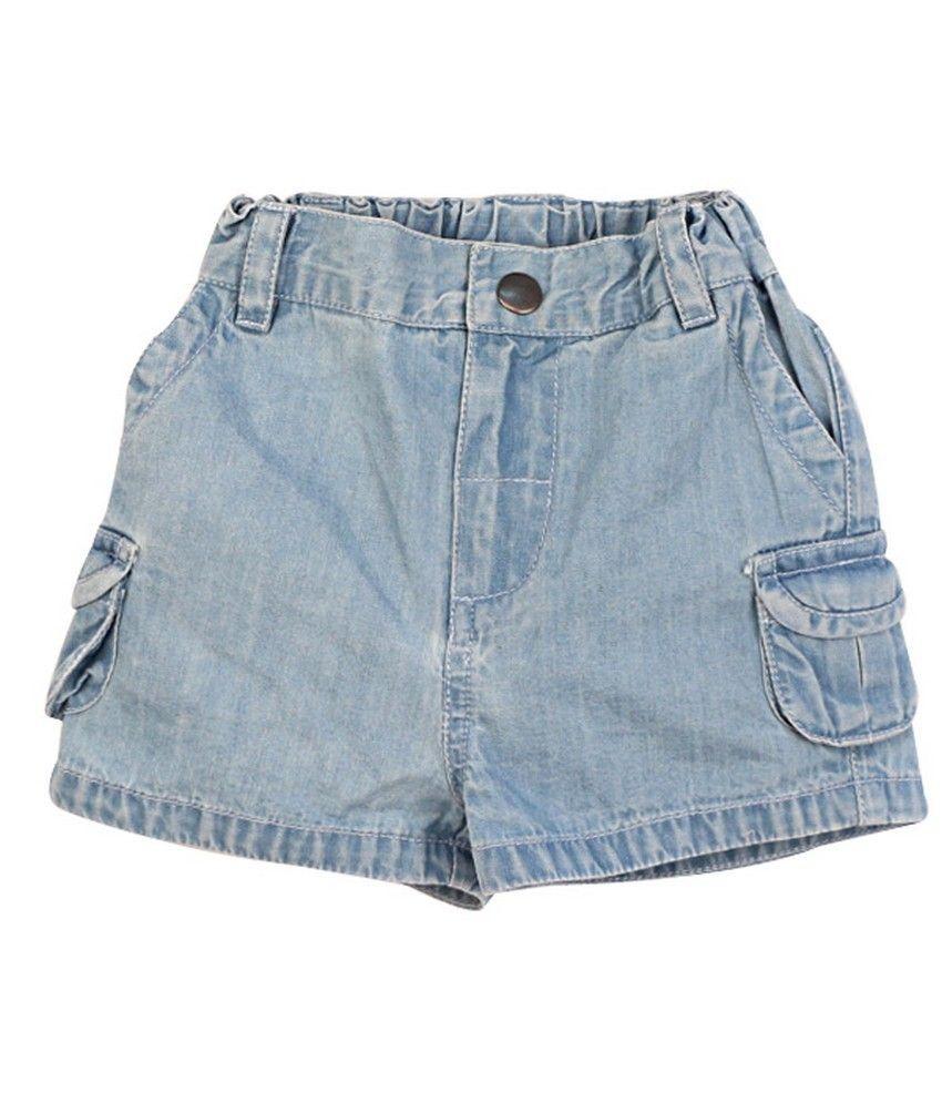 Shoppertree Blue Denim Shorts